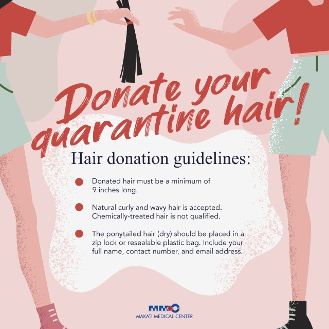 hair donation makatimed