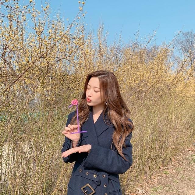 moon ga young hair layered korean haircut