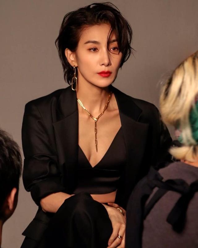 kim seo hyung hair