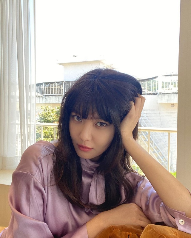 mid-length hair with bangs choi sooyoung