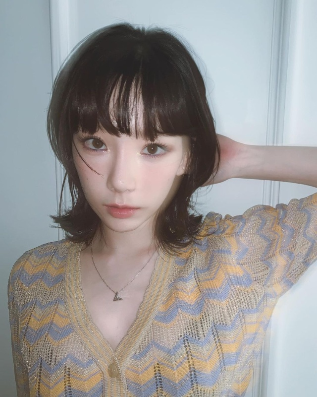 hershey hair cut taeyeon