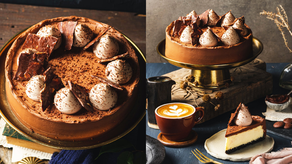 This Father's Day, Treat Dad To Mary Grace's New Chocolate Cheesecake