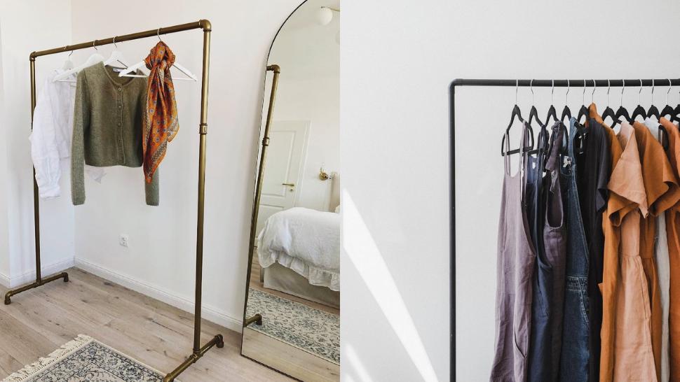 15 Ways to Achieve an Aesthetic Scandinavian-Inspired Open Closet in Your Bedroom