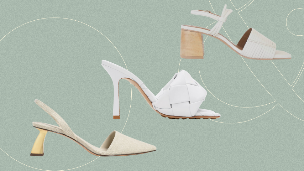 10 Comfortable and Timeless Wedding Heels to Walk Down the Aisle In