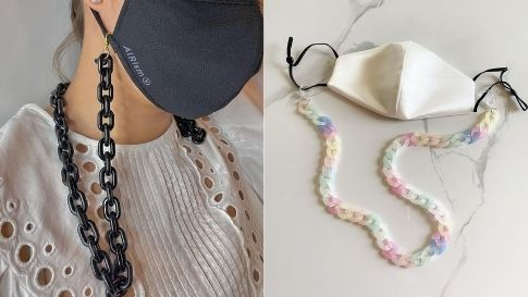 8 Local Instagram Shops That Sell Chunky Mask Chains