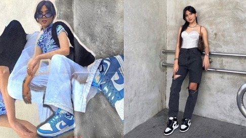5 Simple But Cool Ways To Style Sneakers, As Seen On Ashley Garcia