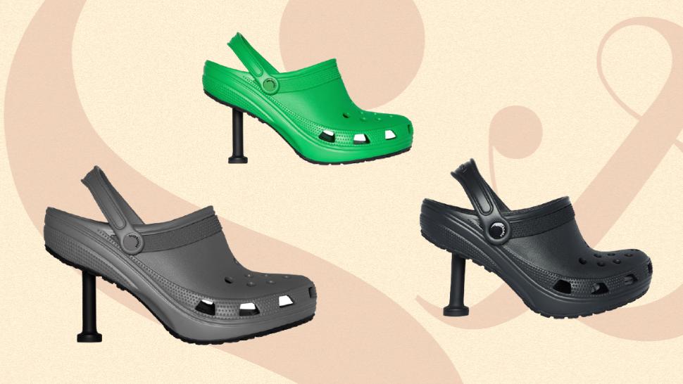 Would You Buy These Balenciaga Stiletto Crocs for P48,000?