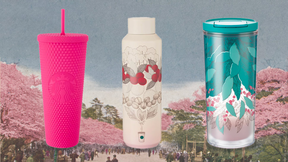 Starbucks' New Tumblers Are Decked Out In Aesthetic Shades Of Pink And Teal