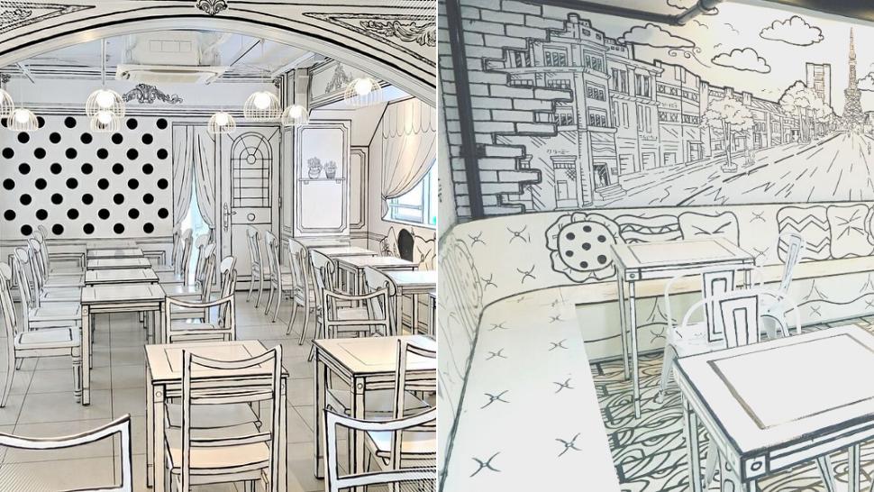 This Local Artsy Milk Tea Shop Looks Just Like A Comic Book