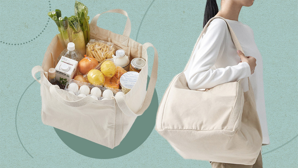 This Minimalist Muji Tote Bag Is Perfect for Grocery Shopping