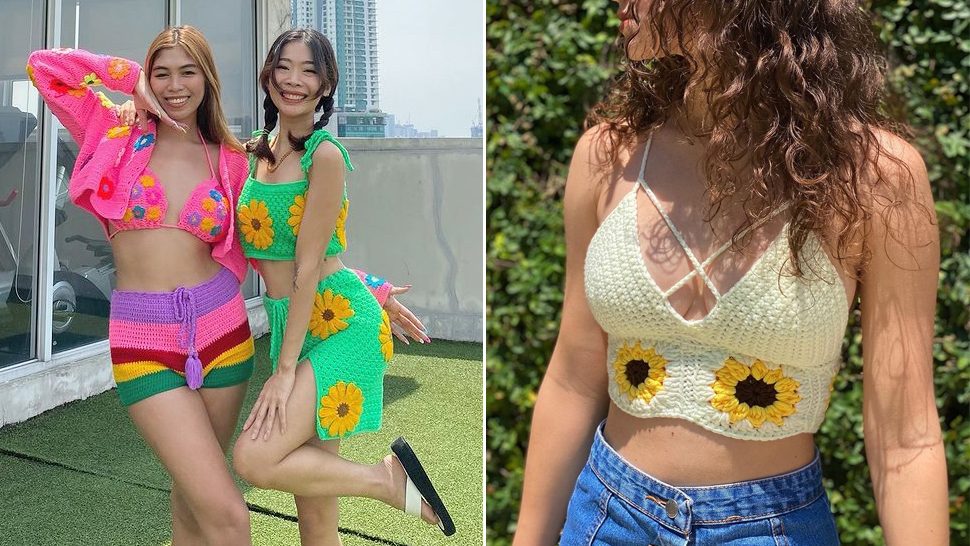 How To Style Those Trendy Crochet Tops You've Been Seeing All Over Instagram