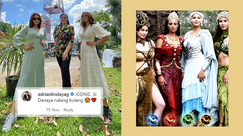 """The Internet Is Freaking Out Over This Mini """"encantadia"""" Reunion"""