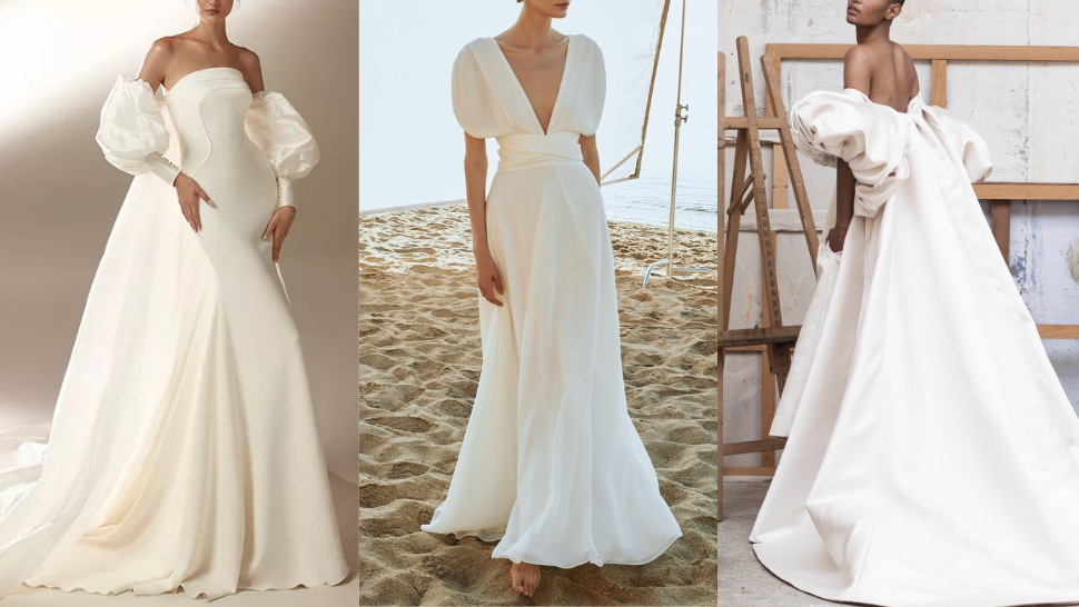 15 Stunning Gowns With Puff Sleeves To Wear On Your Wedding Day