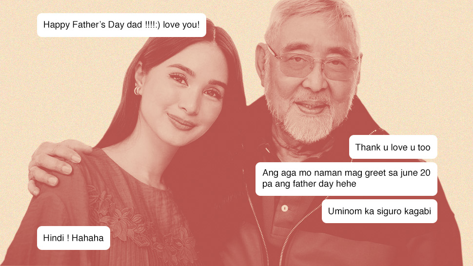 These Celebs Just Shared the Best Text Convos They've Had With Their Dads