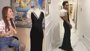 Dr. Aivee Teo's Filipino-made Designer Collection Includes A Stunning Inno Sotto Lbd