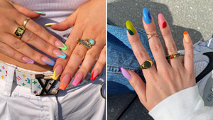 7 Pretty Manicure Ideas You Should Try If You Love Pops Of Color