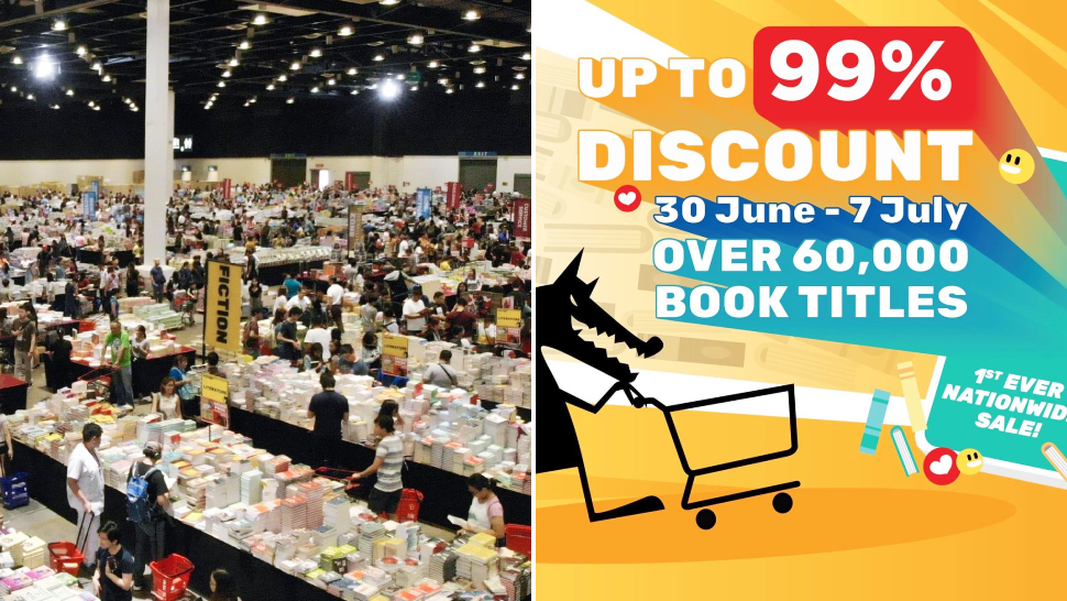 Score Books As Low As P10 At The Upcoming Big Bad Wolf Book Sale!