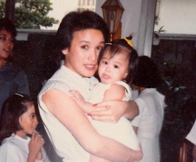 heart evangelista with her mom