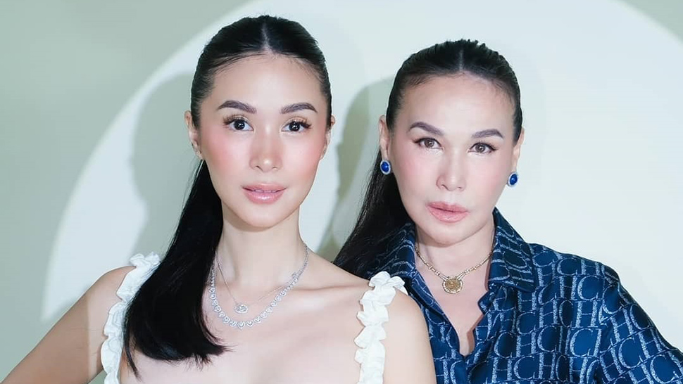 Just Like You, Heart Evangelista Used To Press Her Nose Every Day To Make It Pointier