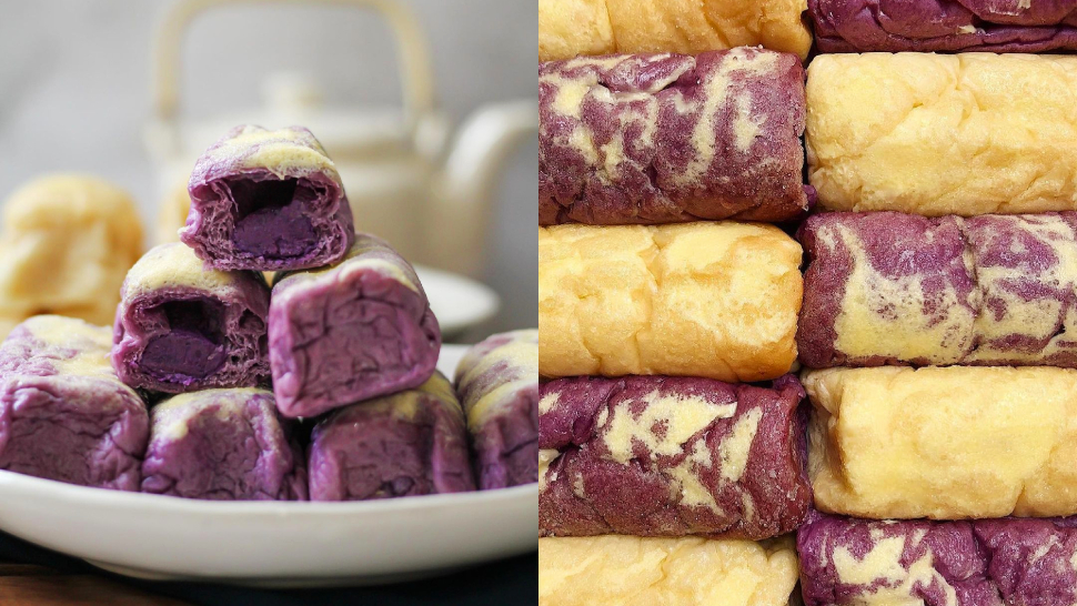These Ube Rolls Are Pure Halaya Goodness, And Here's How You Can Order