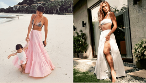 These Influencers Are Making A Case For The Tiered Maxi Skirt + Crop Top Combo And We're All For It