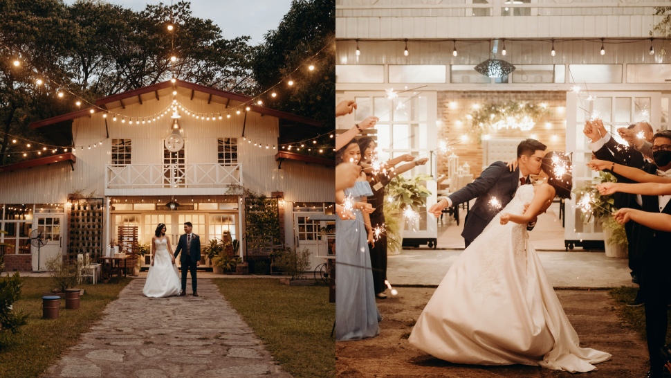 This Couple's Rustic Barn Wedding Looks Like It Came Straight Out Of Pinterest