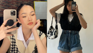 Here's How To Style Those Trendy Sweater Vests, As Seen On Local Celebs