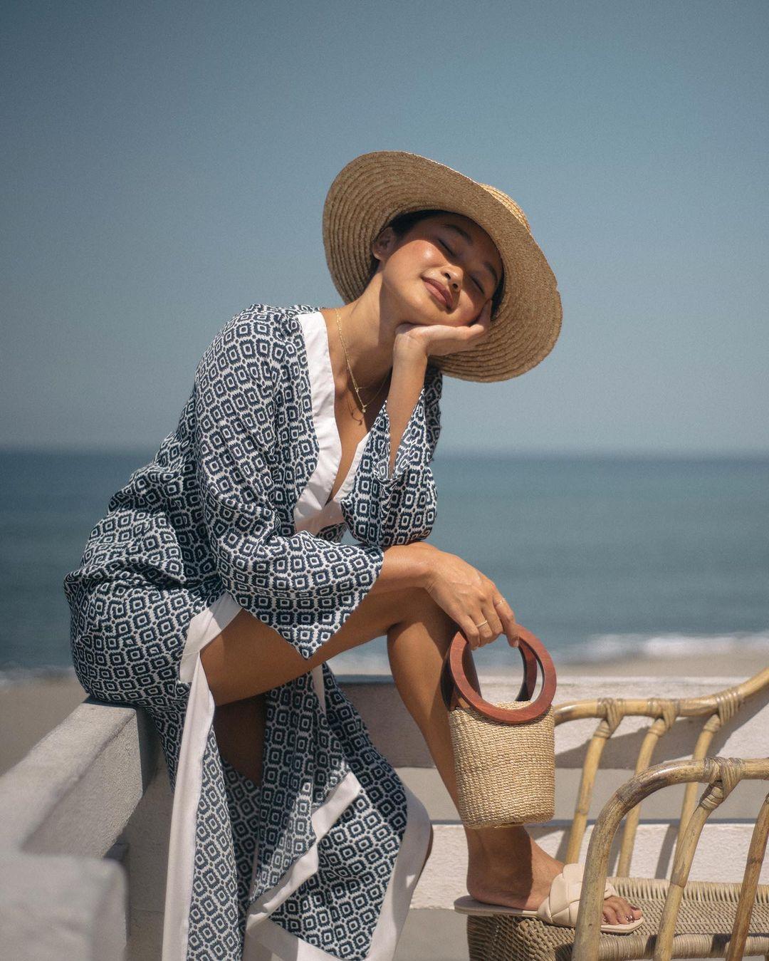 Danika semis beach outfits