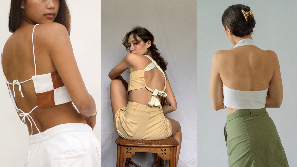 """10 Backless Crop Tops To Shop For Days When You Have """"nothing To Wear"""""""