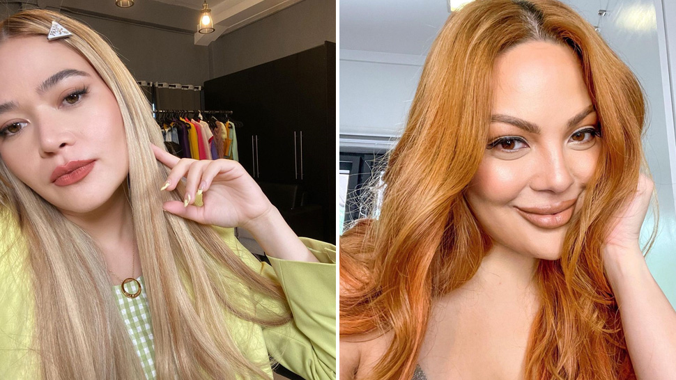 6 Bright Hair Colors That Look Gorgeous On Filipinas, As Seen On Celebrities