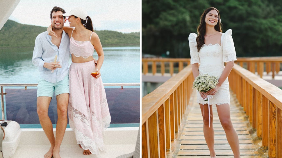 All The Outfits Jess Wilson Wore At Her Wedding Weekend In Palawan