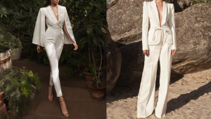 10 Minimalist, Polished Bridal Suits To Wear On Your Wedding Day