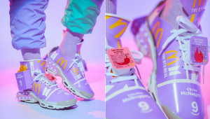 This Artist Transformed The Bts Meal Packaging Into A Cool Pair Of Sneakers