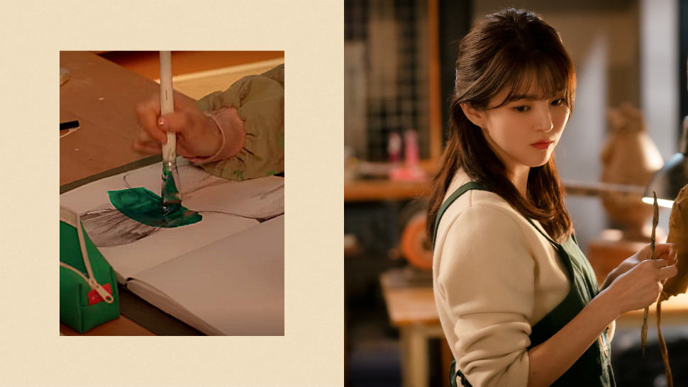 """Did You Know? Han So Hee Drew Her Character's Artworks For """"nevertheless"""" Herself"""