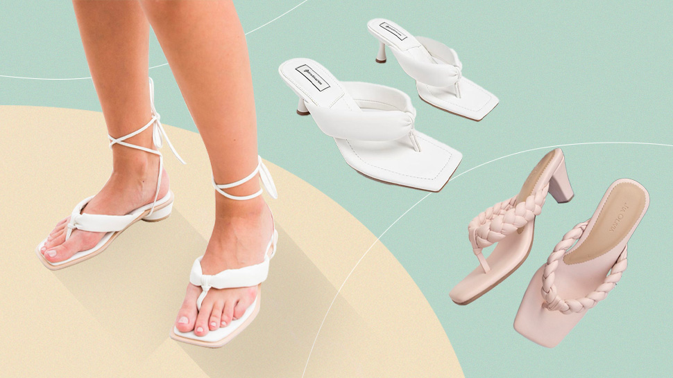 Where To Shop Those Trendy Padded Strappy Sandals You've Been Seeing On Instagram