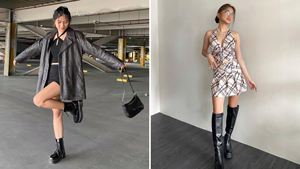 10 Chunky Shoe Outfit Combinations To Try, As Seen On Ashley Garcia