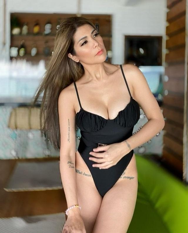 All Of Geneva Cruz's Sexy Swimsuit Ootds In Boracay