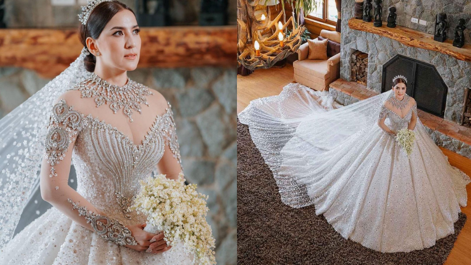 Ara Mina Just Got Married And She Looked Every Bit Like A Princess