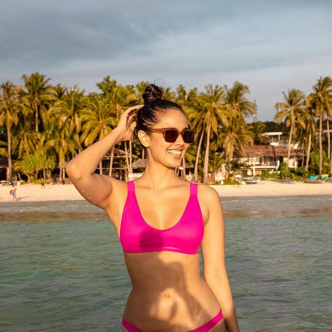 exact neon swimsuit seen on celebrities