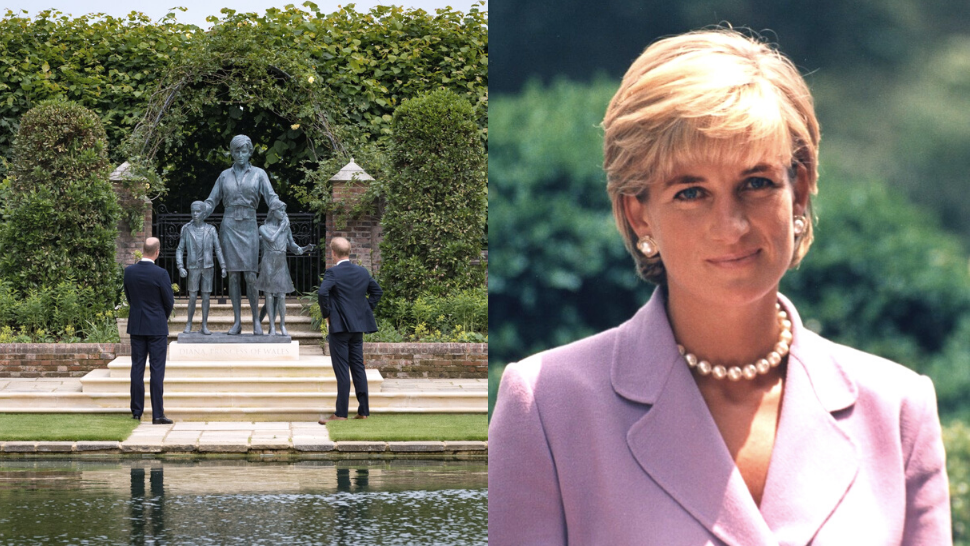 Here's The Special Meaning Behind Princess Diana's New Statue In London