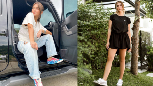 7 Casual Yet Chic Ways To Wear Neutral Tops, As Seen On Local Celebrities