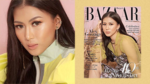 Alex Gonzaga Is The Only Filipina On The Cover Of Harper's Bazaar Vietnam's Anniversary Issue