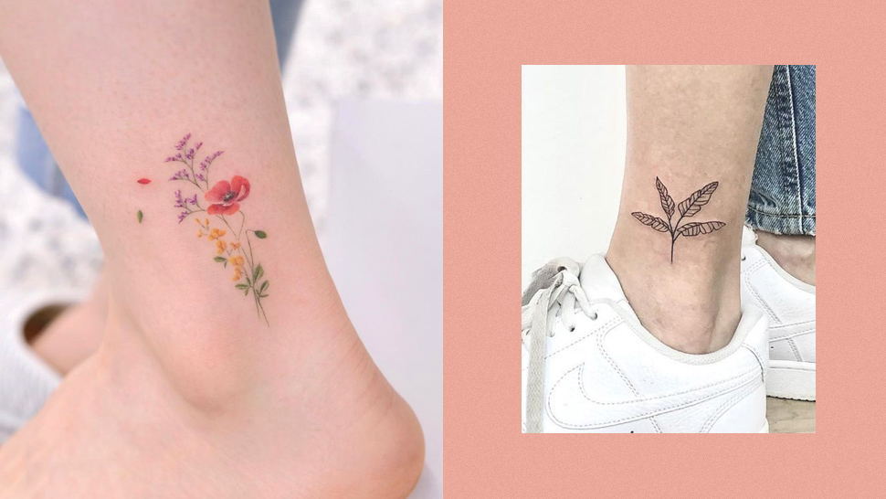 10 Simple Ankle Tattoo Ideas If You Want Something Discreet