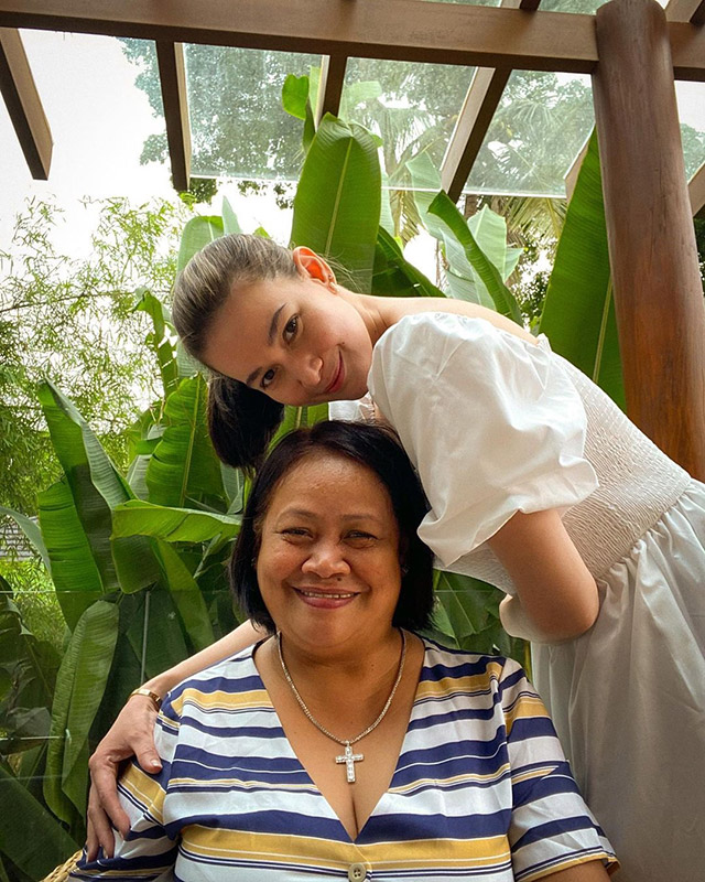 bea alonzo and her mom