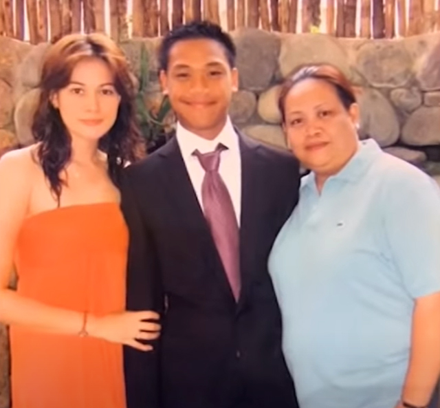bea alonzo old photo with family