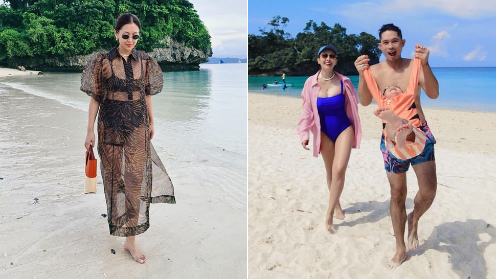 Liz Uy's Stylish Travel Ootds In Boracay Are Proof You Can Layer At The Beach