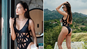 This Is The Exact Cheeky Swimsuit Rhian Ramos Will Make You Want To Shop