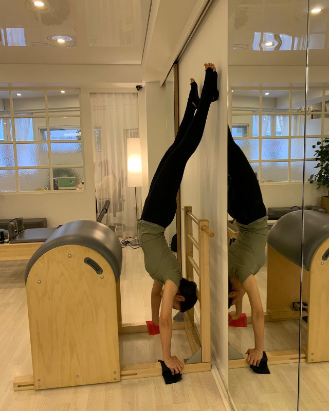 shin se kyung workout