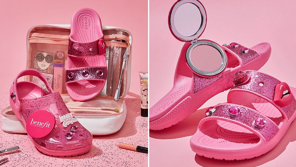 Crocs and Benefit Are Launching a Pink Footwear Collection and We're Already Obsessed