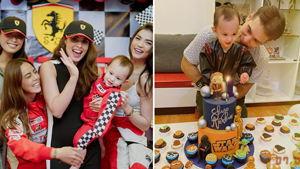 Max Collins And Pancho Magno's Son Had The Coolest Racing And Star Wars-themed Birthday Parties